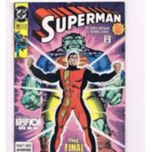 Superman By DC #42 Comic Book 1990 The Final Phase